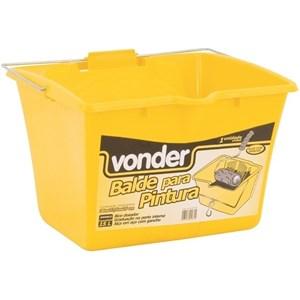Balde / Cacamba Para Pintura 15L Amarelo/Vonder