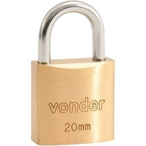 Cadeado De Latao Vdo-0035 35Mm Vonder