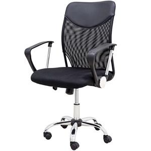 Cadeira De Escritório Diretor Giratória Com Encosto Mesh