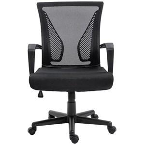 Cadeira de Escritório Diretor Sistema Relax Estofada Tela Mesh C210 Best