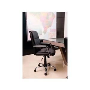 Cadeira de Escritório Presidente Giratória Base Cromada C301 Best