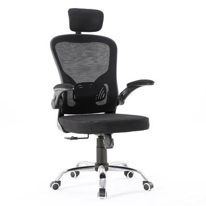 Cadeira De Escritório Presidente Giratória Cromada C310 - Best