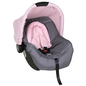 Cadeira para Bebê Conforto para Automóvel Piccolina Preto Grafite Rosa Galzerano