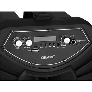 Caixa de Som Amplificada Portátil BLUETOOTH/USB/SD/P10/AUX CA-100 120w Bivolt - Lenoxx