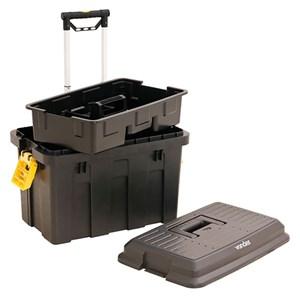 Caixa Plastica De Ferramentas Com Roda Crv 0200 Vonder