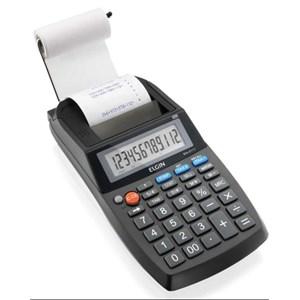 Calculadora de Impressão 12 Dígitos sem Adaptador Preta - Elgin