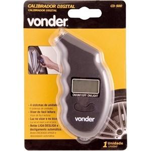 Calibrador De Pneus Digital Cd 500 Vonder