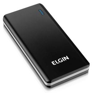 Carregador De Bateria Portátil USB CP10k Slim 10000mah Preto - Elgin