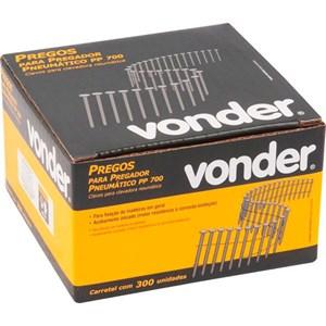Carretel de Prego Liso 50mm com 300 Peças para Pregador PP 550 - Vonder
