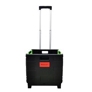 Carrinho de Compras Multiuso Cesto Transporte Dobrável 25kg Best