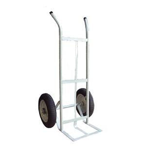 Carrinho Para Transporte de Carga Pesada Armazém 200kg Roda Pneumática Unicar
