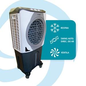 Climatizador de ar evaporativo portátil 160 watts 100 Litros Ultraar 220V