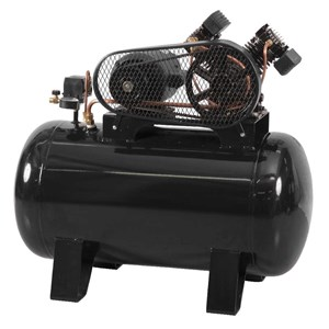 Compressor de Ar 10 Pés 100L 2HP 140PSI Monofásico 220V - SCHULZ