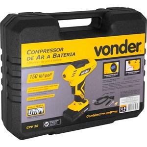Compressor de ar portátil a bateria 20 V CPV 20 - VONDER