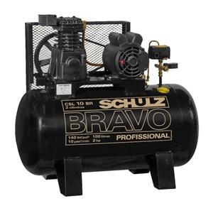 Compressor Schulz BRAVO CSL 10 BR/100 L Trifásico - SCHULZ