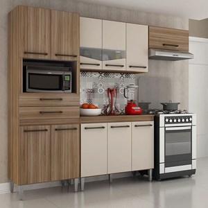Cozinha Completa 4 Peças Lívia Carvalho/Off White