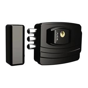 Fechadura Eletrônica Ultra Card AGL Sensor Aproximação 3 Pinos Preta