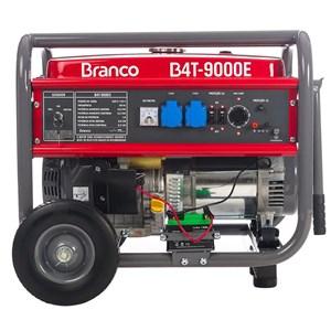 Gerador de Energia à Gasolina 9Kva 110/220V B4T9000E Partida Elétrica BRANCO