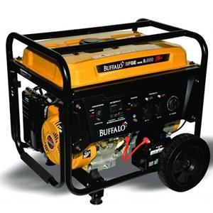 Gerador De Energia à Gasolina Buffalo Bfge 8.000 Plus 8Kva Partida Elétrica 110/220V