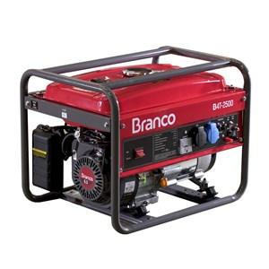 Gerador de Energia Gasolina B4T-2500 2,2KVA Partida Manual Branco