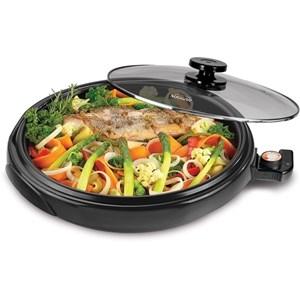 Grill Top Chefe 36 Cm 220V Preta - Suggar