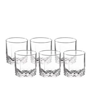 Jogo De 6 Unidades Copos Whisky Vidro Starlit 310 Ml