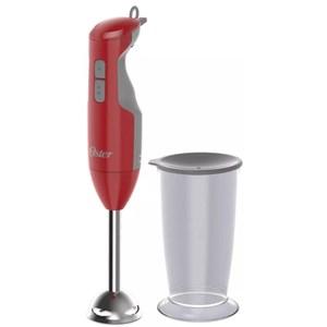 Mixer Oster Versátil Função Turbo Vermelho com copo dosador - 250W