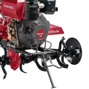 Motocultivador Tratorito Diesel 10cv Partida Manual BTTD10 Branco Motores