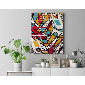 Quadro Decorativo em Tecido Canvas 40x60cm pintura I