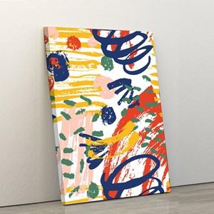 Quadro Decorativo em Tecido Canvas 40x60cm pintura II