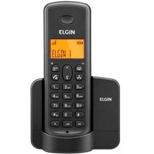Telefone Sem Fio TSF 8001 c/ Viva Voz E Identificador De Chamadas Preto - Elgin